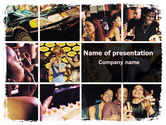 People: Luxurious Life PowerPoint Template #06580