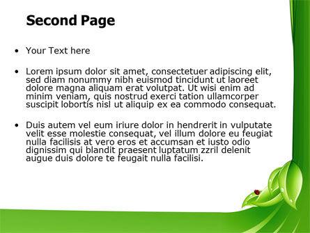 Ladybird PowerPoint Template, Slide 2, 06582, Nature & Environment — PoweredTemplate.com