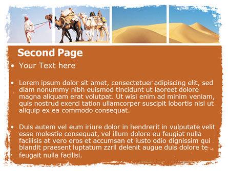 Arab Emirates PowerPoint Template, Slide 2, 06583, Nature & Environment — PoweredTemplate.com