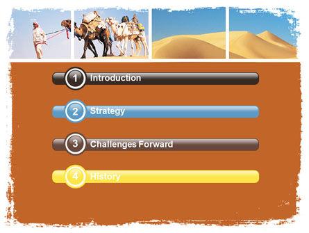 Arab Emirates PowerPoint Template, Slide 3, 06583, Nature & Environment — PoweredTemplate.com