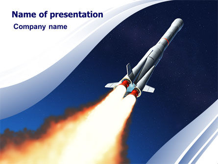 Launch PowerPoint Template, 06584, Technology and Science — PoweredTemplate.com