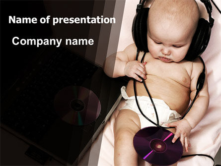 Hi-Tech Baby PowerPoint Template