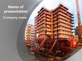 Construction: Modèle PowerPoint de secteur de la construction #06587