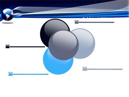 Midnight Blue Globe PowerPoint Template Slide 10