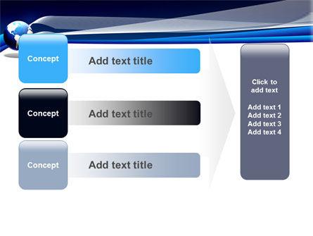 Midnight Blue Globe PowerPoint Template Slide 12