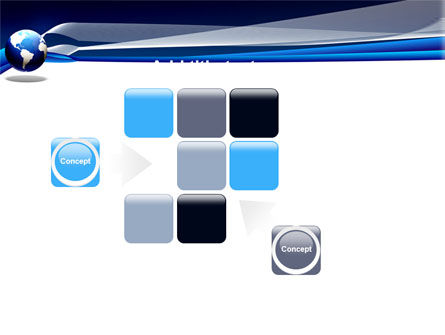 Midnight Blue Globe PowerPoint Template Slide 16