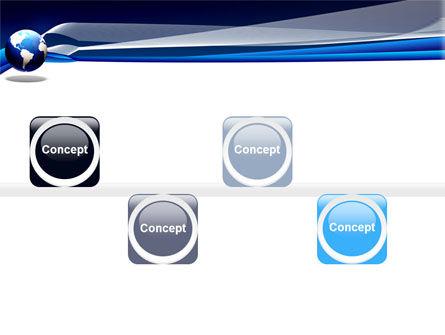 Midnight Blue Globe PowerPoint Template Slide 19