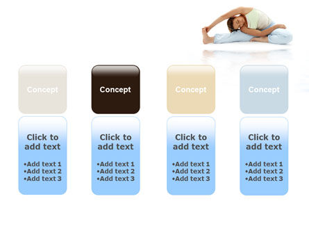 Free Body Stretching PowerPoint Template Slide 5