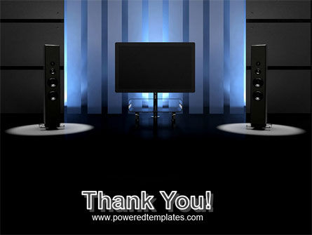 Home Theater PowerPoint Template Slide 20