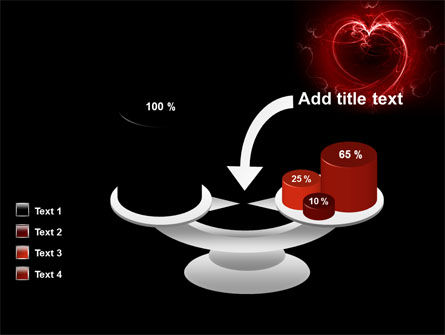 Abstract Heart PowerPoint Template Slide 10