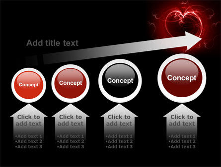 Abstract Heart PowerPoint Template Slide 13