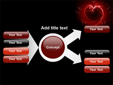 Abstract Heart PowerPoint Template Slide 14