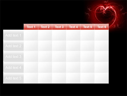 Abstract Heart PowerPoint Template Slide 15