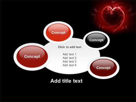 Abstract Heart PowerPoint Template Slide 16
