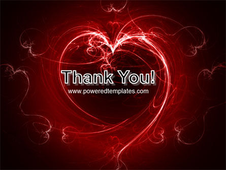 Abstract Heart PowerPoint Template Slide 20