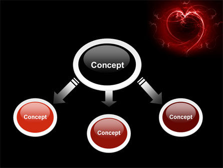 Abstract Heart PowerPoint Template Slide 4