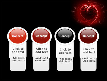 Abstract Heart PowerPoint Template Slide 5