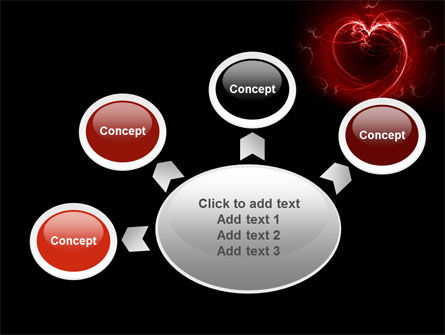 Abstract Heart PowerPoint Template Slide 7