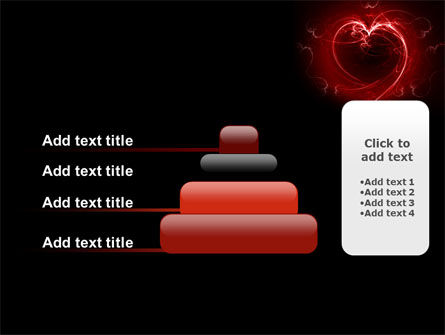 Abstract Heart PowerPoint Template Slide 8