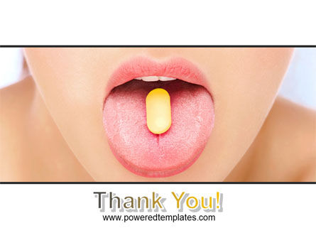 Taking Pills PowerPoint Template Slide 20