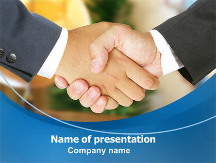 Business Deal And Agreement PowerPoint Template