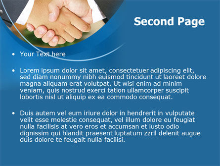 Business Deal And Agreement PowerPoint Template Slide 2