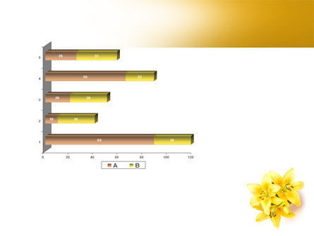 Yellow Lilies PowerPoint Template Slide 11
