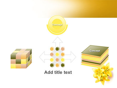 Yellow Lilies PowerPoint Template Slide 19