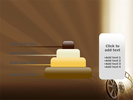 Film Reel In Light Brown Color PowerPoint Template Slide 8