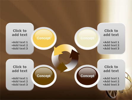 Film Reel In Light Brown Color PowerPoint Template Slide 9