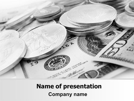 Monetary Reserves PowerPoint Template, 06600, Financial/Accounting — PoweredTemplate.com