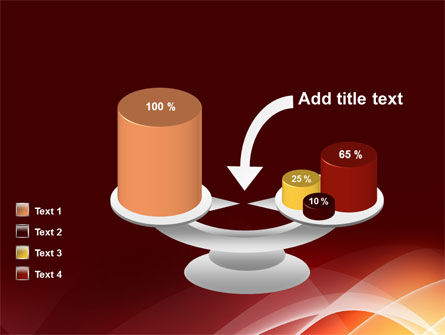 Red Cascading PowerPoint Template Slide 10