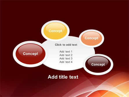 Red Cascading PowerPoint Template Slide 16