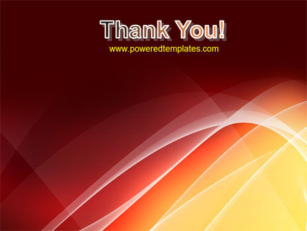Red Cascading PowerPoint Template Slide 20