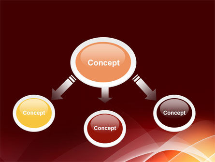 Red Cascading PowerPoint Template Slide 4