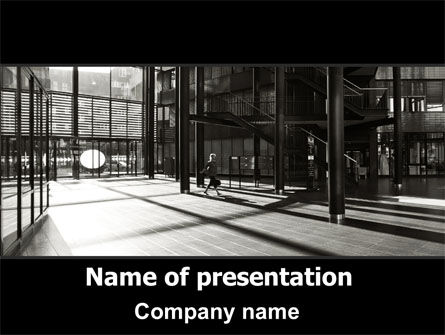 Lobby Space PowerPoint Template
