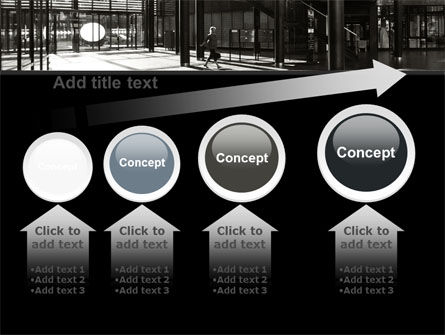 Lobby Space PowerPoint Template Slide 13