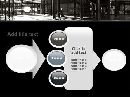 Lobby Space PowerPoint Template Slide 17