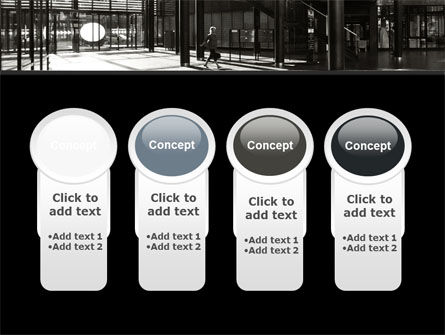 Lobby Space PowerPoint Template Slide 5