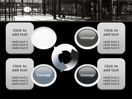 Lobby Space PowerPoint Template Slide 9