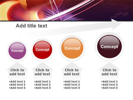 Red Globe In The Ring PowerPoint Template Slide 13