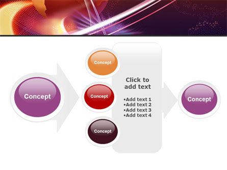 Red Globe In The Ring PowerPoint Template Slide 17