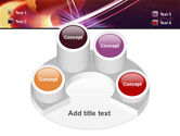 Red Globe In The Ring PowerPoint Template#12