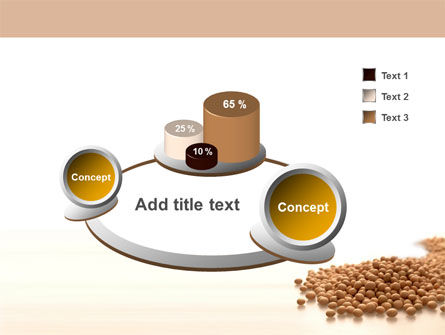 Soy Beans PowerPoint Template Slide 6
