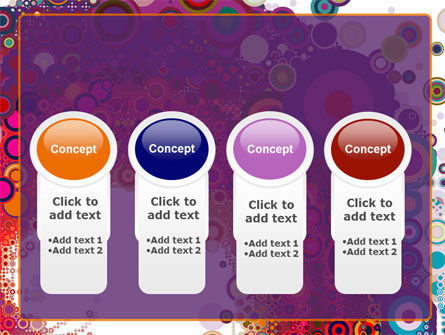 Sixties Paradise Party PowerPoint Template Slide 5