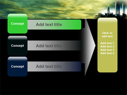 Futuristic Cityscape PowerPoint Template Slide 12
