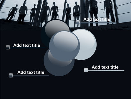 Standing Manikins Free PowerPoint Template Slide 10