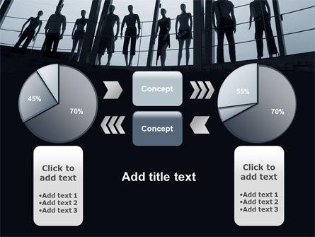 Standing Manikins Free PowerPoint Template Slide 11