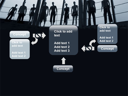 Standing Manikins Free PowerPoint Template Slide 13