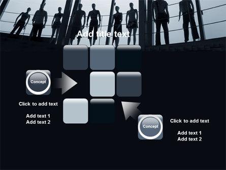 Standing Manikins Free PowerPoint Template Slide 16